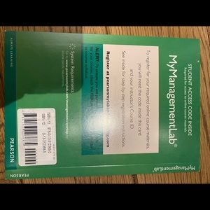2014 MyLab Management with Pearson eText